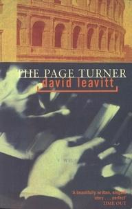 David Leavitt - The page turner.