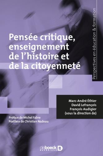 Pensée critique enseignement de l'histoire et de la citoyenneté