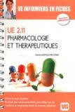 David Leopold-Metzger - Pharmacologie et thérapeutiques - UE 2.11.