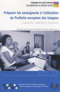 David Little et Hans-Peter Hodel - Préparer les enseignants à l'utilisation du Portfolio européen des langues - Arguments, matériels et ressources. 1 Cédérom