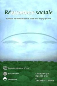 Deedr.fr Réassurance sociale - Stabiliser les micro-assurances santé dans les pays pauvres Image