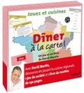 David Martin et Nicole Masson - Dîner à la carte - Un jeu et un livre, Jouez et cuisinez.