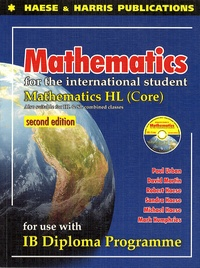 David Martin - Mathematics for the International Students : IB Dipolma HL Core. 1 Cédérom