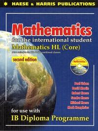 David Martin - Mathematics for the International Students : IB Dipolma HL Core. 1 Cédérom