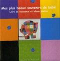 David McKee - Mes plus beaux souvenirs de bébé - Livre de naissance et album photos.