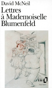 David McNeil - Lettres à mademoiselle Blumenfeld.