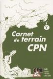 David Melbeck - Carnet de terrain CPN.