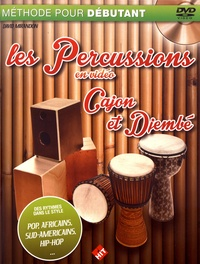 Deedr.fr Les percussions en vidéo - Cajón et djembé Image