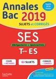 David Mourey et Laurent Braquet - Annales BAC SES Tle ES.