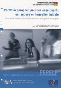 David Newby - Portfolio européen pour les enseignants en langues en formation initiale - Un outil de réflexion pour la formation des enseignants en langues.