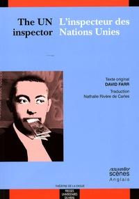 Deedr.fr L'inspecteur des Nations Unies Image