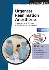 David Osman et Marie-Pierre Bonnet - Urgences Réanimation Anesthésie.