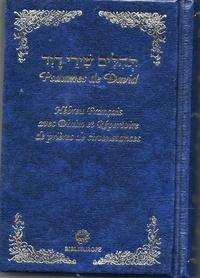 David - Psaumes de David Hébreu Français - bleu TEHILIM.