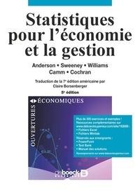 Statistiques pour l'économie et la gestion - David R. Anderson pdf epub
