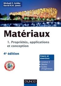 David R.H. Jones et Michael Ashby - Matériaux - Propriétés, applications et conception.