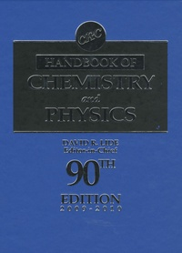 Rhonealpesinfo.fr CRC Handbook of Chemistry and Physics 2009-2010 Image