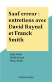 David Raynal et Salah Stétié - .