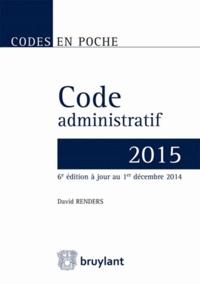 Deedr.fr Code administratif 2015 Image