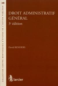 David Renders - Droit administratif général.