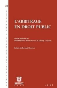David Renders et Pierre Delvolvé - L'arbitrage en droit public.