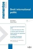 David Ruzié et Gérard Teboul - Droit international public 2012.