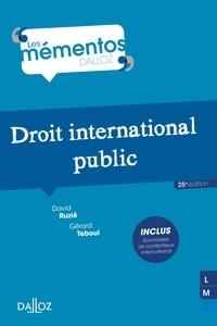 David Ruzié et Gérard Teboul - Droit international public - 25e éd..