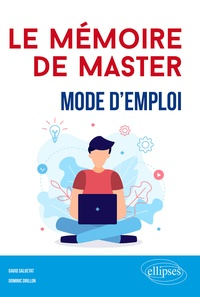 Téléchargement gratuit de livres pour ipod touch Le mémoire de Master  - Mode d'emploi par David Salvetat, Dominic Drillon (French Edition) DJVU PDB CHM 9782340036055