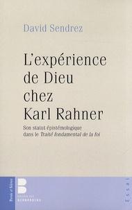 Rhonealpesinfo.fr L'expérience de Dieu chez Karl Rahner - Son statut épistémologique dans le Traité fondamental de la foi Image
