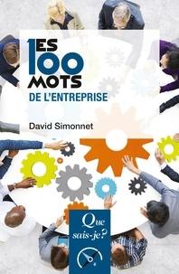 David Simonnet - Les 100 mots de l'entreprise.