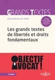 David Soldini - Grands textes de libertés et droits fondamentaux.