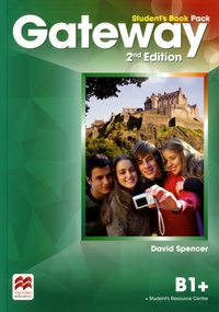 Galabria.be Gateway B1+ Student's Book Pack Image