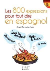Livres gratuits à télécharger en ligne à lire Les 800 expressions pour tout dire en espagnol par David Tarradas Agea