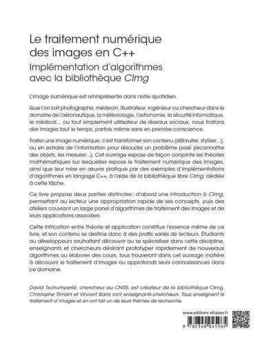 Le traitement numérique des images en C++. Implémentation d'algorithmes avec la bibliothèque CImg