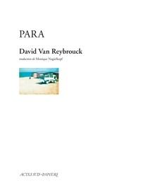 David Van Reybrouck - Para.