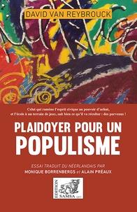 David Van Reybrouck - Plaidoyer pour un populisme.