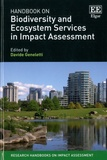 Davide Geneletti - Handbook on Biodivrsity and Ecosystem Services in Impact Assessment.