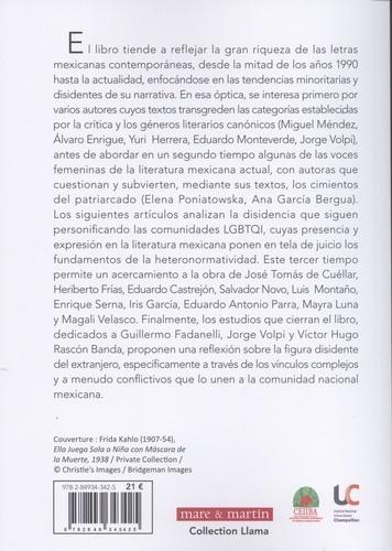 Tendencias disidentes y minoritarias de la prosa mexicana actual (1996-2016)