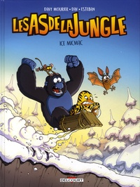 Davy Mourier et  Dav - Les as de la jungle Tome 2 : Ice Micmac.