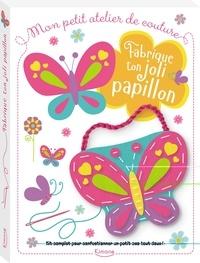 Dawn Machell - Fabrique ton joli papillon - Avec des pièces en feutrine, une poignée, 2 boutons, des stickers en feutrine, du fil et une aiguille en plastique.