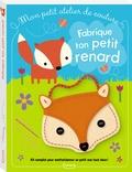 Dawn Machell - Fabrique ton petit renard - Avec des pièces en feutrine, 3 boutons, 1 aiguille en plastique, du fil et la poignée.