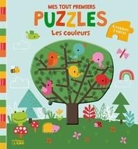 Dawn Machell - Les couleurs - 4 puzzles de 3 pièces.