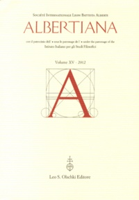 Francesco Furlan - Albertiana N° 15/2012 : .