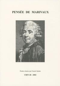 Franck Salaün - CRIN N° 40/2002 : Pensée de Marivaux.