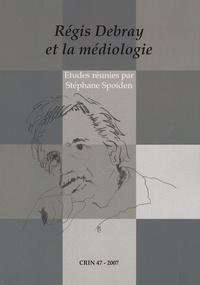 Stéphane Spoiden - CRIN N° 47/2007 : Régis Debray et la médiologie.