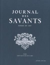 Philippe Contamine - Journal des savants 2012 : Janvier-Juin 2012 et Juillet-Décembre 2012 - 2 volumes.
