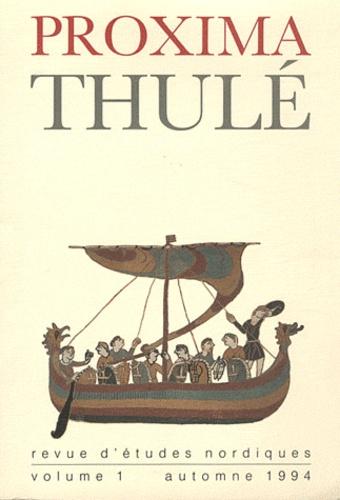 François-Xavier Dillmann - Proxima Thulé N° 1, Automne 1994 : .