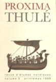 François-Xavier Dillmann - Proxima Thulé N° 3, Printemps 1998 : .