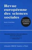 Alban Bouvier et Samuel Bordreuil - Revue européenne des sciences sociales N° 136/2007 : Démocratie délibérative, démocratie débattante, démocratie participative.