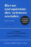 François Chazel et Jacques Coenen-Huther - Revue européenne des sciences sociales N° 140/2008 : La sociologie en quête d'une théorie générale.