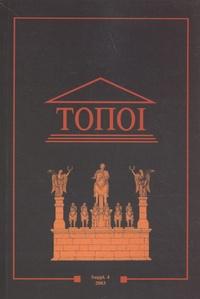 Marie-Françoise Boussac - Topoi Supplément 4/2003 : La Syrie hellénistique.